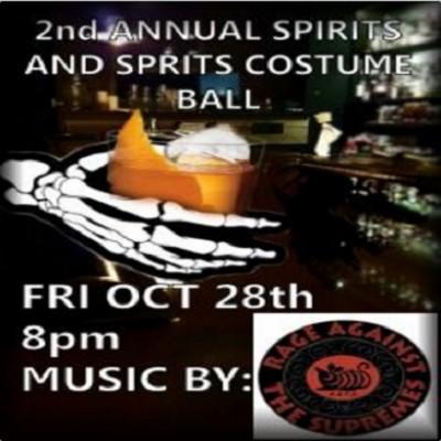 Spirits and Spirits Costume Ball