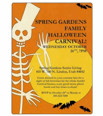 Spring Gardens Family Halloween Carnival