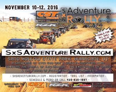 SxS Adventure Rally - Year 2!
