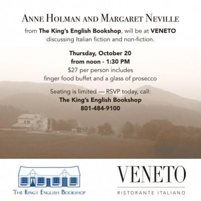 Veneto Book Talk