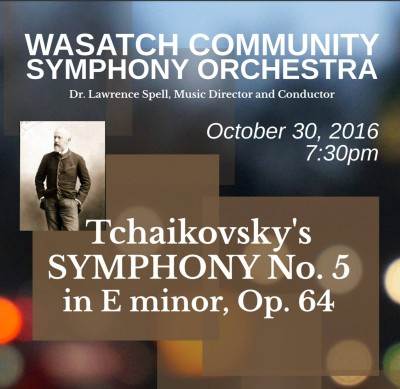 Wasatch Symphony's Fall Concert