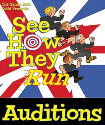 "Auditions for ""See How They Run"""
