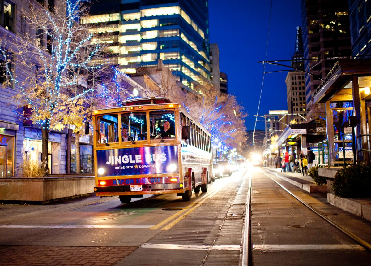 Downtown Jingle Bus Presented By Downtown Alliance