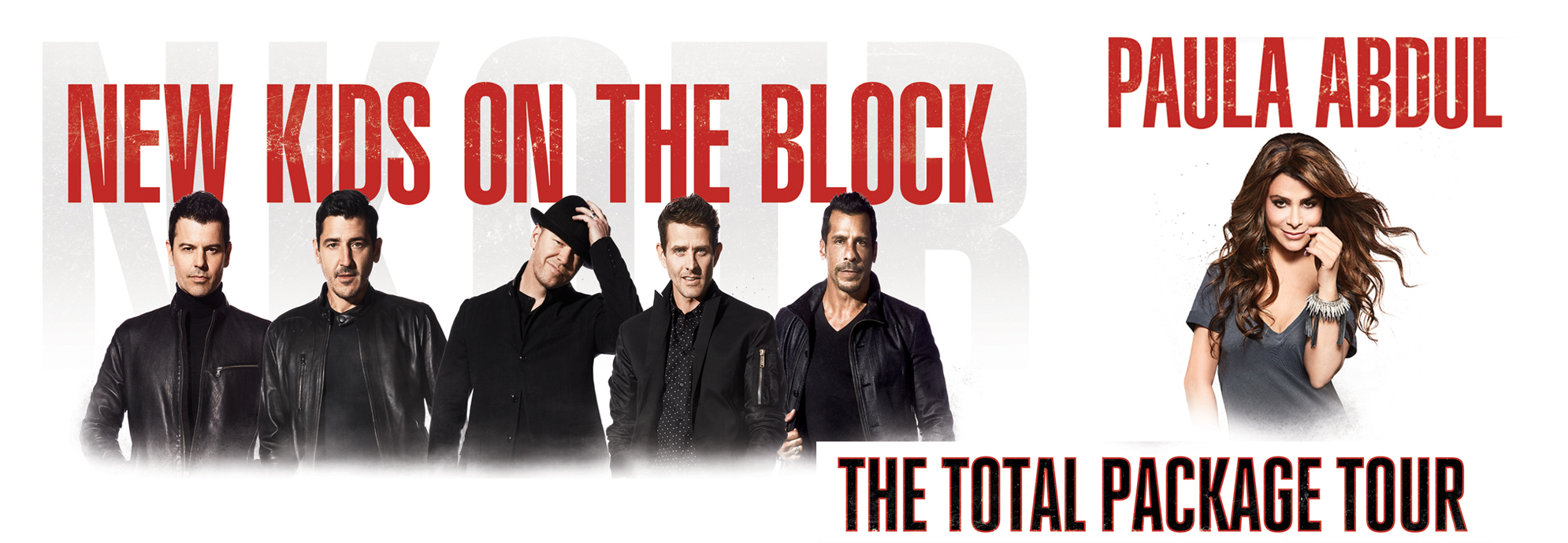 The Total Package Tour: New Kids on the Block with Paula Abdul ...