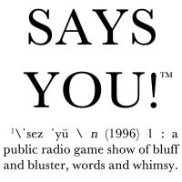 """Says You!"" Radio Quiz Show in Salt Lake City"