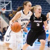 Women's Basketball: BYU Cougars vs. Portland