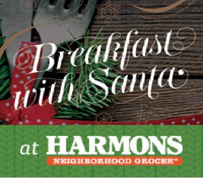 Breakfast with Santa at Harmons