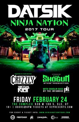 DATSIK - Ninja Nation 2017 Tour