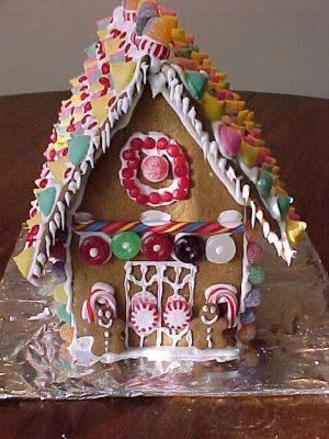 Gingerbread House Sculptures I
