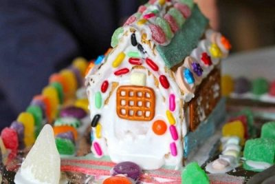 Gingerbread House Sculptures III