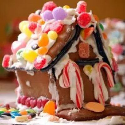 Gingerbread House Sculptures IV