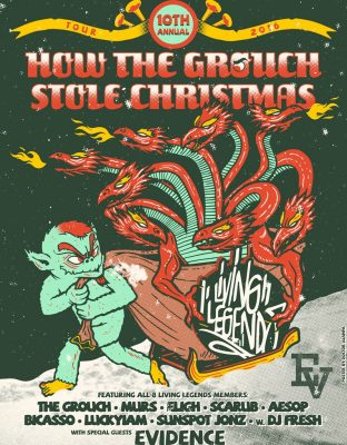 How The Grouch Stole Christmas