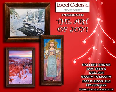 Local Colors of Utah Holiday/Winter Group Artist Show