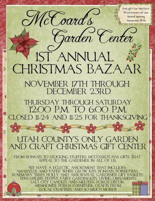 McCoard's Christmas Bazaar