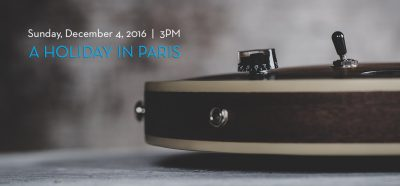 NOVA Chamber Music Series: A Holiday in Paris
