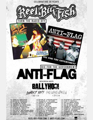 Reel Big Fish and Anti-Flag
