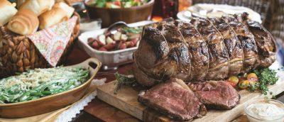 Rib Roast Holiday Feast