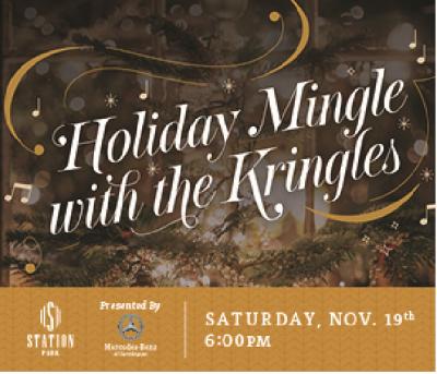 Santa's Arrival: Mingle with the Kringles