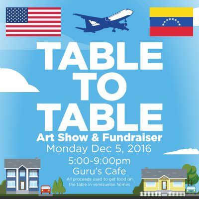 Table to Table: Benefit for Venezuelan Food Crisis
