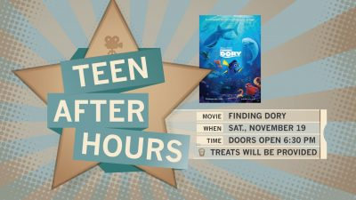 Teen After Hours: Finding Dory (PG, 2016)