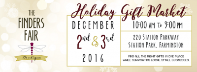 The Finders Fair: Holiday Gift Market