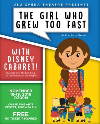 The Girl Who Grew Too Fast