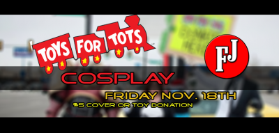 Toys for Tots Cosplay Party