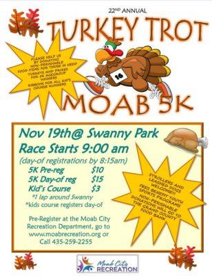 Turkey Trot 5K Moab Run
