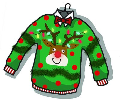 Ugly Christmas Sweater ~ Charity Dance ~ & Holiday Classes!