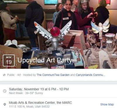 UpCycled Art Party