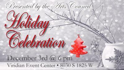 West Jordan Arts Council Holiday Celebration