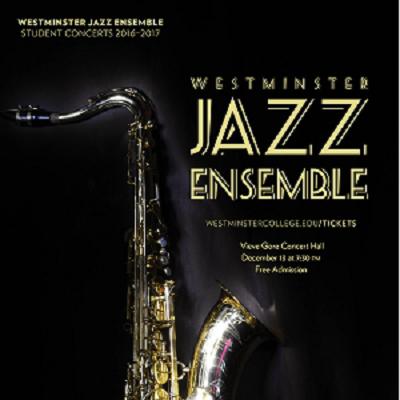 Westminster Jazz Ensemble Fall Concert