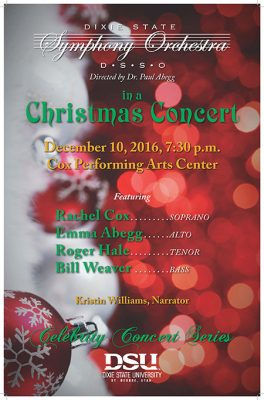 Dixie State Symphony Orchestra Christmas Concert