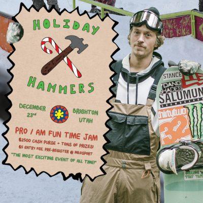 Holiday Hammers Rail Jam