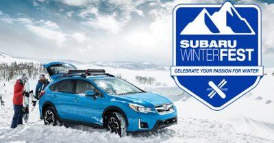 Subaru Winterfest - March