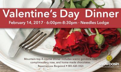 Valentine's Day Dinner at Needles Lodge