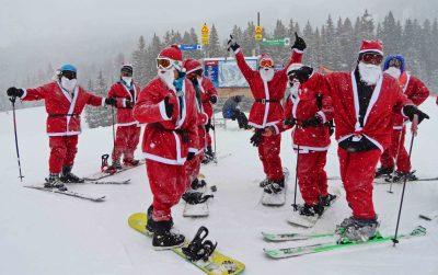 Santas Ski Free