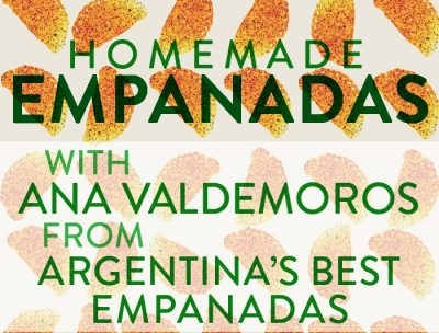 Craft Lake City Presents: January Empanada Workshop with Ana Valdemoros of Argentinas Best Empanadas