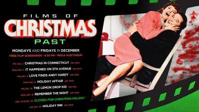December Film Screenings: Films of Christmas Past