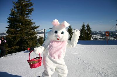 Easter Egg Hunt and Ski with the Easter Bunny