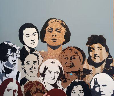 Family Art Saturday: Artist-Led Stencil Workshop