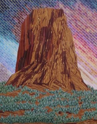 Fiber Artists Imagine the National Parks