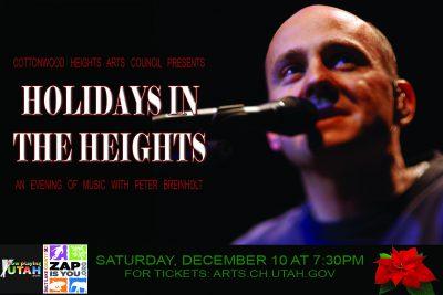 Holiday Concert Featuring Peter Breinholt