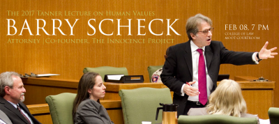 Human Values and The Innocence Project | 2017 Tanner Lecture