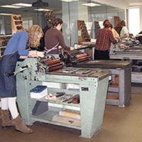 Letterpress Printing: Text Plus Image