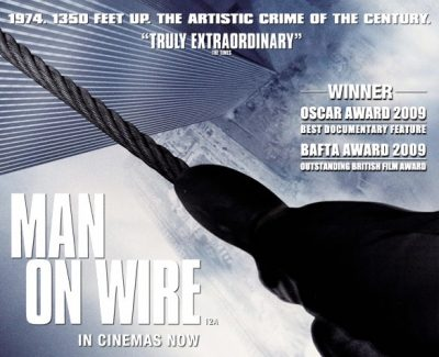 Man On Wire (PG-13, 2008)