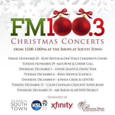 Mundi Ambassadors @ FM 100 Christmas Concert Serie...