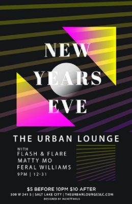 NYE Party with Flash and Flare
