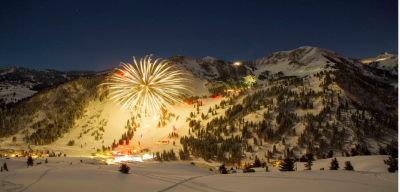 New Year's Eve Torchlight Parade, Fireworks and Bonfire