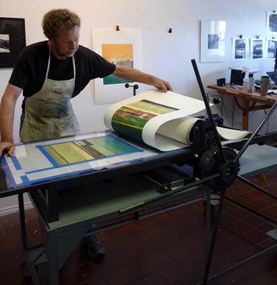 Painterly Printmaking: Introduction To Monotype